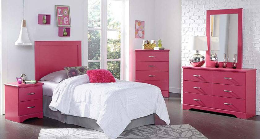 Pink Bedroom Furniture Set White Teenage Girls