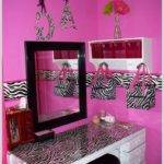 Pink Black Zebra Bedroom Decor Home