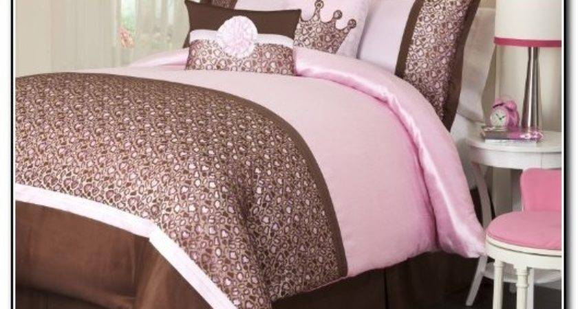 Pink Brown Bedding Sets Home