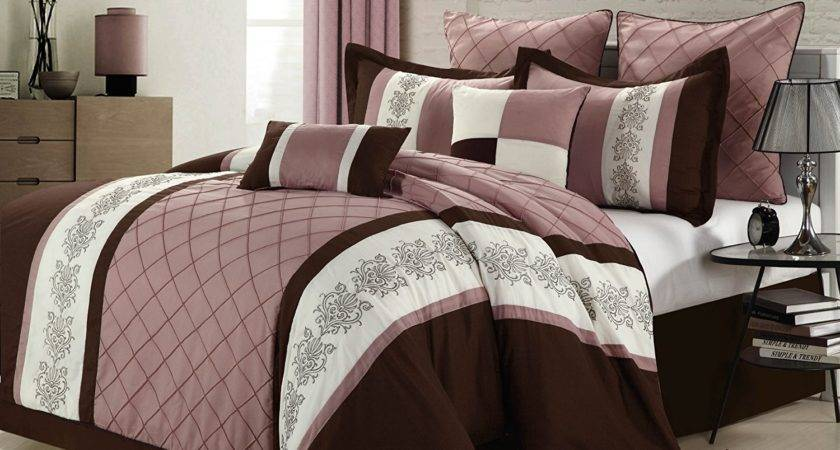 Pink Brown Bedding Webnuggetz