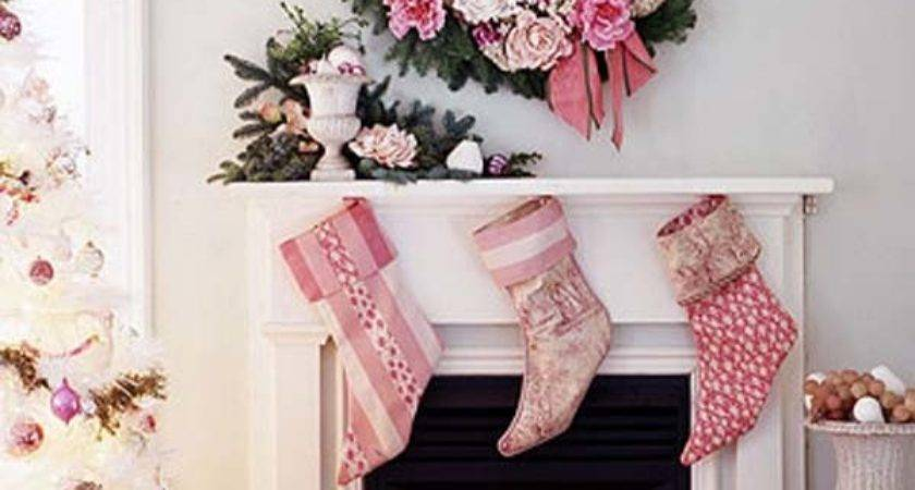 Pink Christmas Decoration Ideas Celebrations