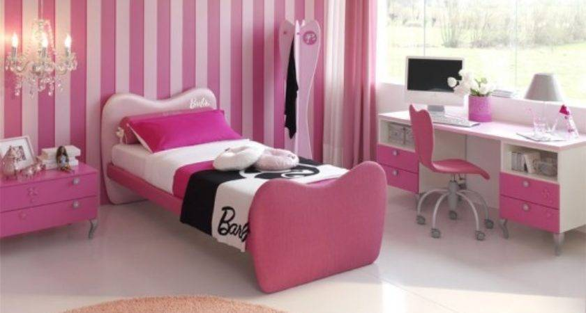 Pink Color Bedrooms Ideas Girls
