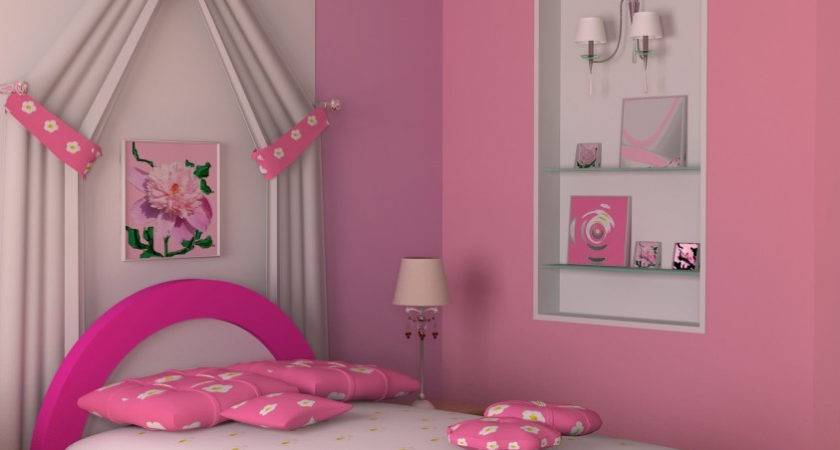 Pink Decor Bedroom Small Makeover
