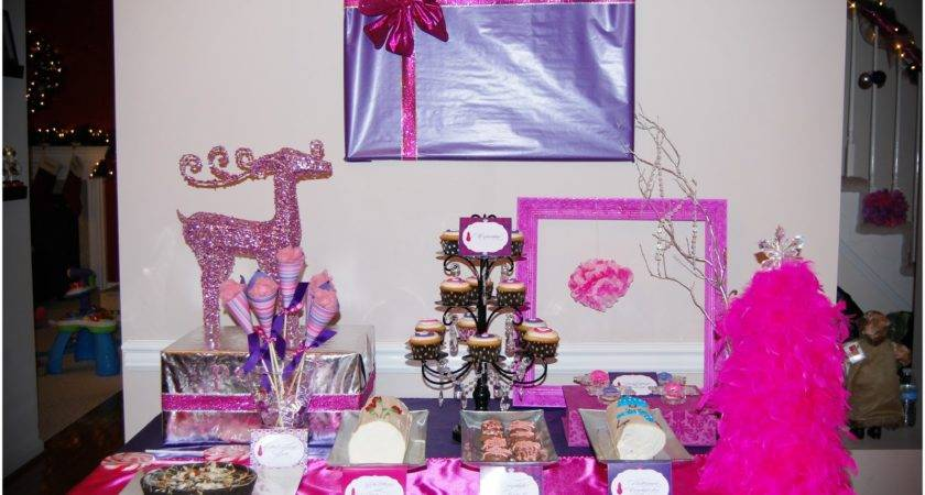 Pink Purple Party Decorations Sparkling Events Designs