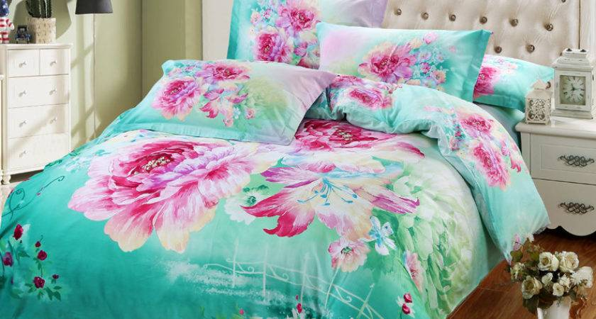 Pink Turquoise Bedding Promotion Shop Promotional