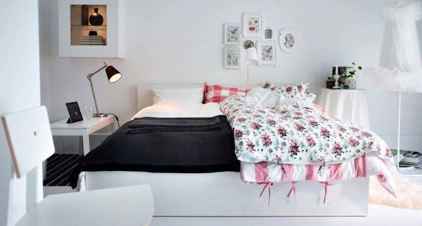 Pink White Bedroom Design Interior Ideas