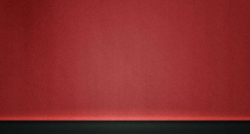 Plain Red Powerpoint