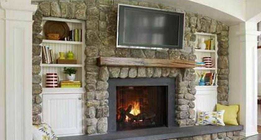 Planning Ideas Above Fireplace Contemporary