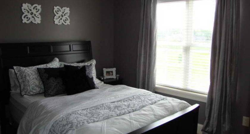 Planning Ideas Dark Gray Bedroom Paint