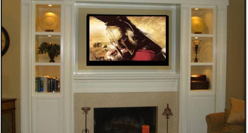 Planning Ideas Over Fireplace Entertainment