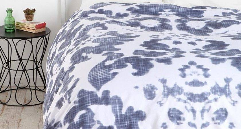 Plum Bow Damask Duvet Cover Urban Outfitters