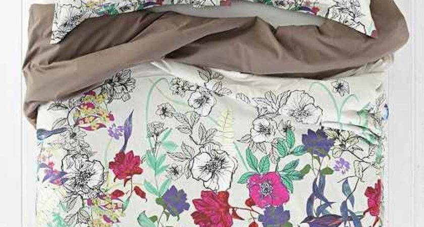 Plum Bow Forest Critter Duvet Cover Urban Outfitters