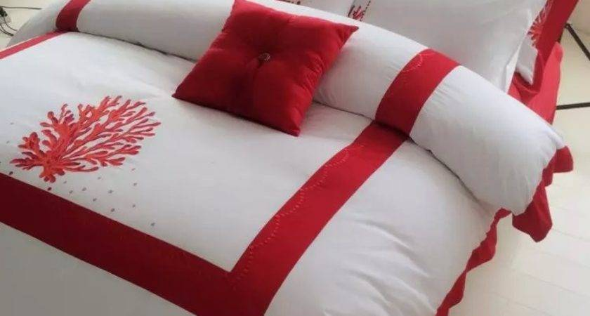 Popular Red Coral Bedding Buy Cheap Lots