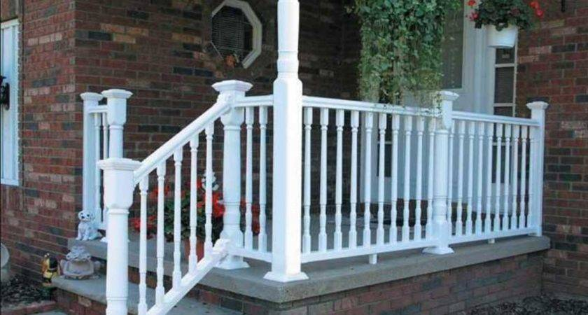 Porch Railing Home Depot Ideas Interior Exterior