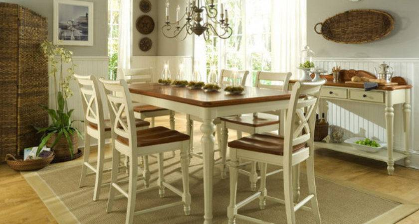 Pretty Beach Cottage Furniture Dining Rooms Home
