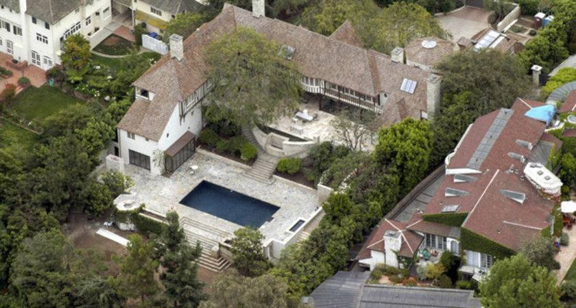 Pretty Jennifer Aniston Home Former House Brad Pitt