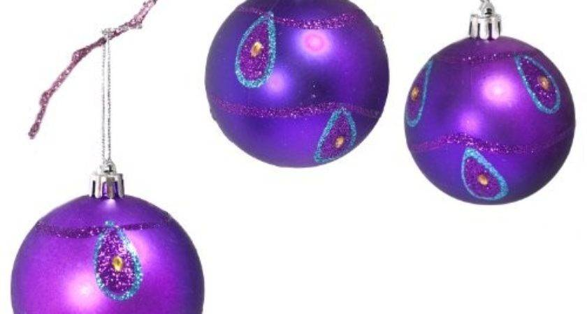 Pretty Pink Purple Christmas Decorations Xpressionportal