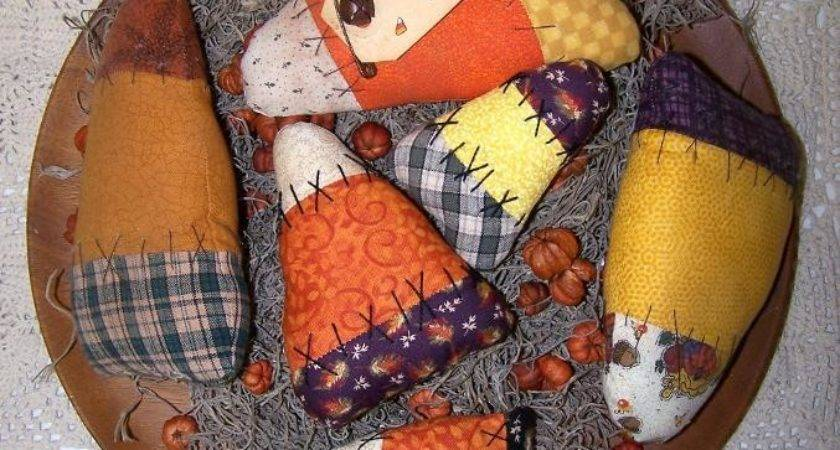Primitive Candy Corn Ornies Cftsy Joycelyn Ford Craftsy