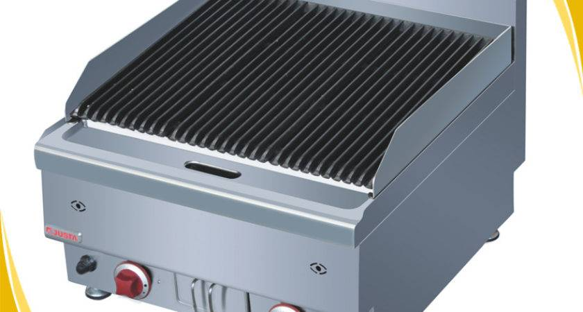 Professional Lava Rock Gas Barbeque Grill Indoor Bbq