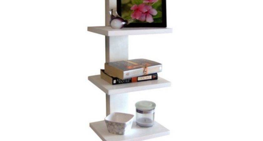 Proman Products Spine Wall Book Shelves Bookcase Wood