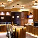 Proper Placement Modern Kitchen Lighting Ideas Design