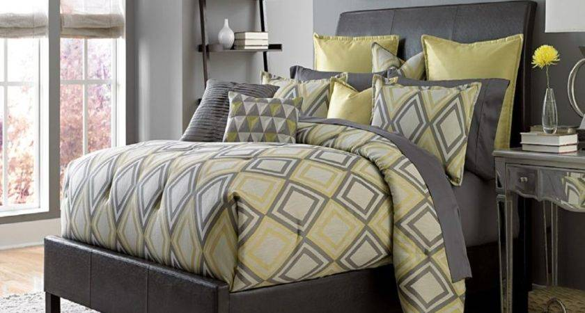 Property Mus Yellow Gray Bedding Make Your