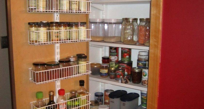 Pull Out White Narrow Kitchen Pantry Cabinet Molding