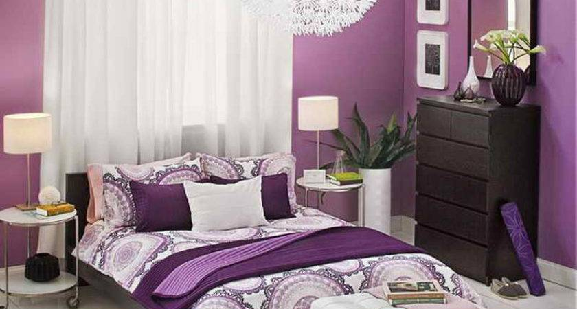 Purple Ideas For Bedroom Inspiration Barb Homes