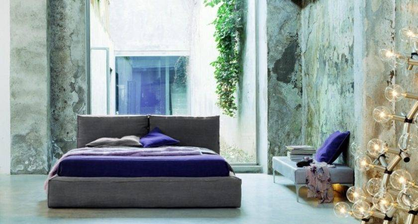 Purple Bedroom Pillow Modern Design Olpos