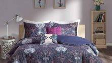 Purple Blue Comforter Sets Emmi