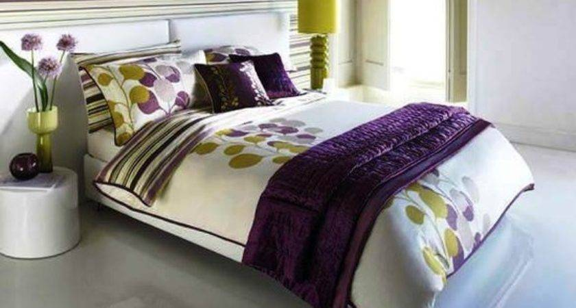 Purple Bright Green Bedroom Beautiful Homes Design
