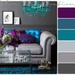 Purple Gray Turquoise Pinterest