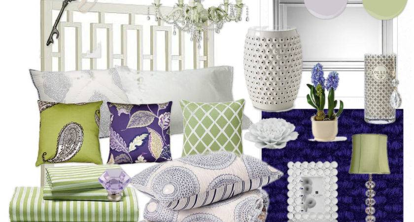 Purple Green Bedroom Teen Girl Lovely Design Modern
