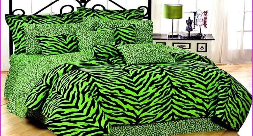 Purple Lime Green Comforter Sets Total