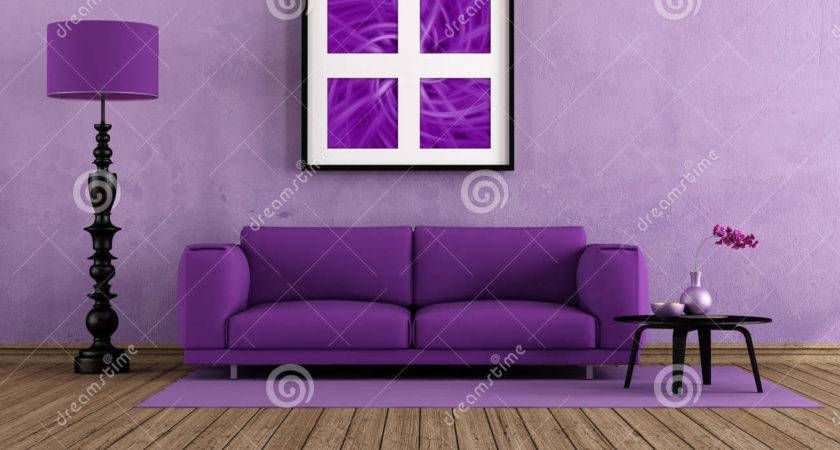 Purple Living Rooms Decorating Ideas Great Home Design