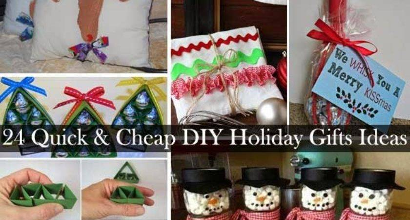 Quick Cheap Diy Christmas Gifts Ideas Craft