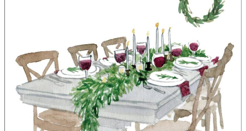 Quick Design Tip Set Holiday Table Lark