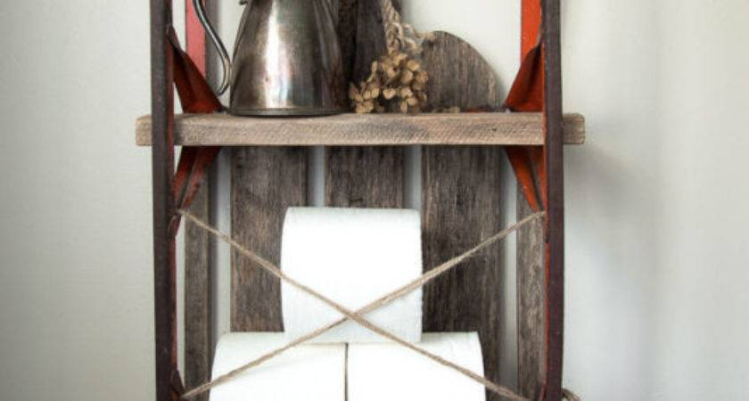 Quirky Upcycled Storage Ideas Your Bathroom Ebay