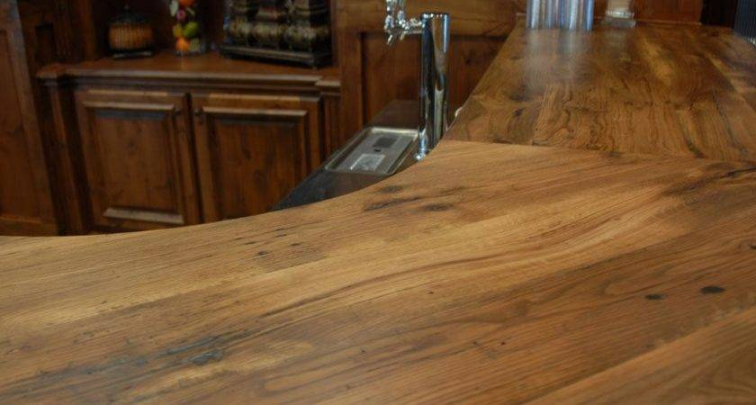 Reclaimed Wood Countertops Table Tops Bar