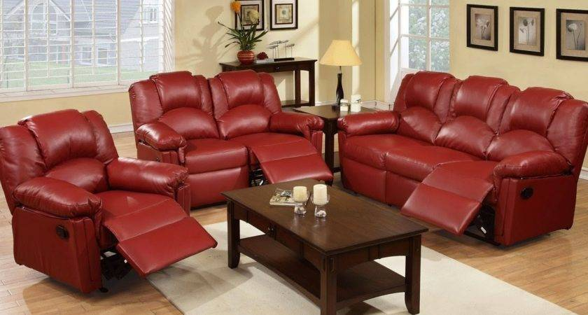 Reclining Sofa Sets Sale Red Living Room