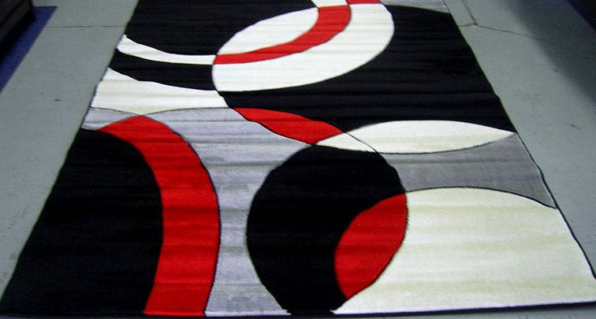 Red Black Gray Area Rugs Ehsani Fine