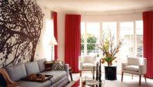 Red Brown Living Room Design Home Conceptor