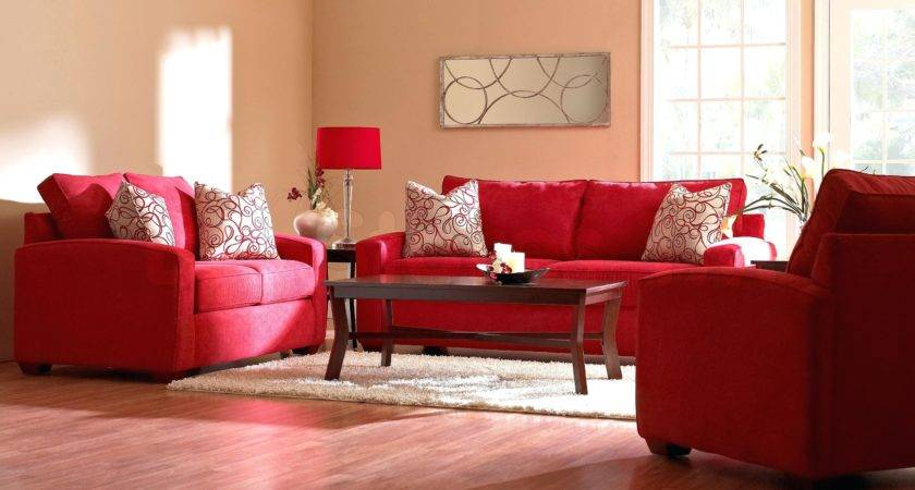 Red Couch Living Room Design Ideas Sofa Decor Sectional