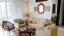 Red Cream Living Room One Brick Time