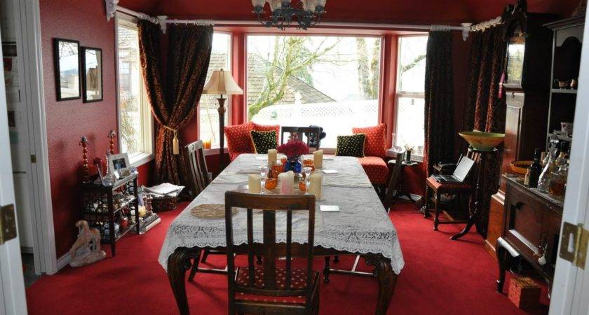 Red Dining Room Designs Decorating Ideas Design