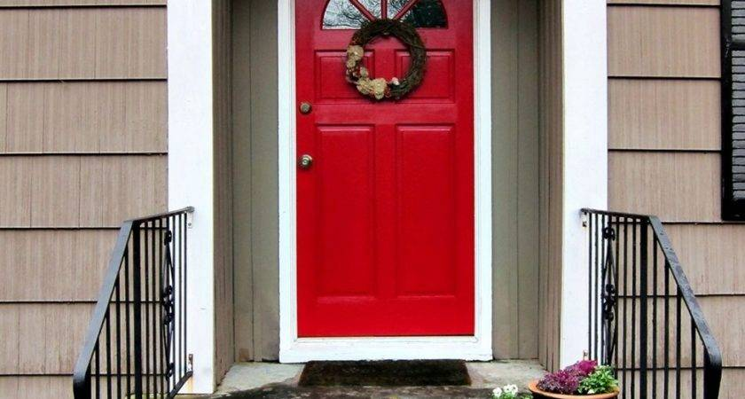 Red Front Door Boost Positive Energy Your House