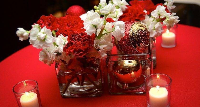 Red Gold Christmas Wedding Decorationscherry Marry