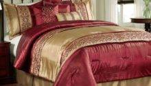 Red Gold Comforter Set Home Design Ideas