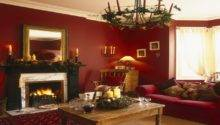 Red Gold Living Room Decorating Ideas