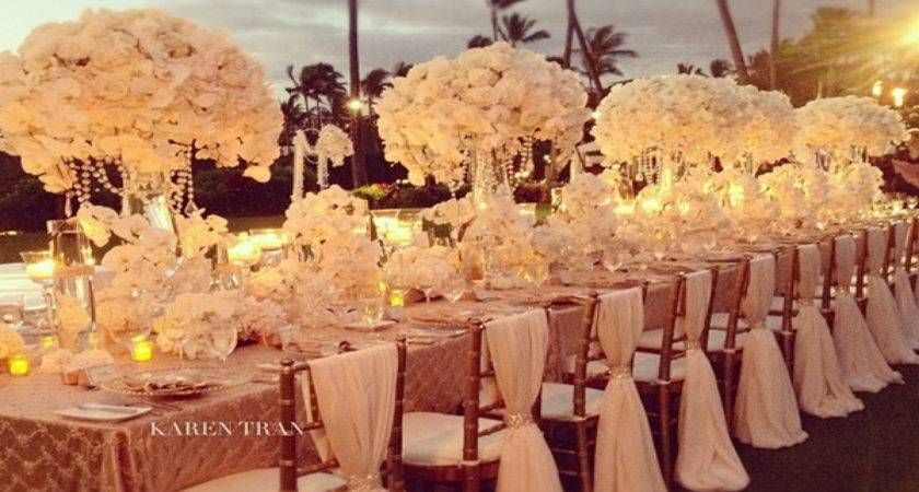 Red Gold Wedding Decor Party